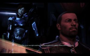 ME3 LDLC - Ellis Shepard and Cortez by chicksaw2002