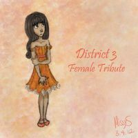 District 3 Female Tribute by MissySerendipity