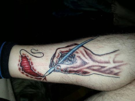 my tattoo by scribilitary