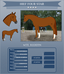MTE Redefin - HIEF 4 Star by StoneGardenStables