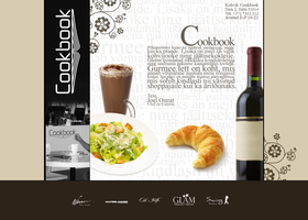Cafe Cookbook web interface by Autobaas