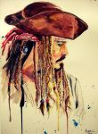 Tribute to  Jack Sparrow by BudsLightyear