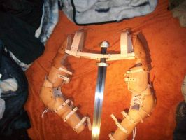 Leather Arm Harness by JoshSkaarup