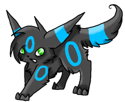 Shiny Umbreon by Thunderclap12