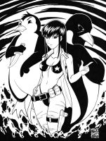Assassin and the Penguins by maztabotin