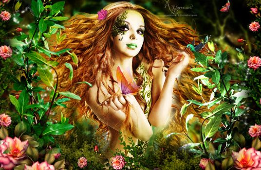 The Nature Woman by annemaria48