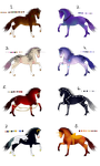 Equine Adoptables (8/8 OPEN) by Aragonoid