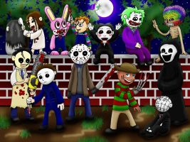 The Horror Kids by Molonara