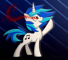 Vinyl Scratch for KristySK by TSupirka