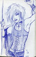 Visual Kei Doodle by TheDarkShiva