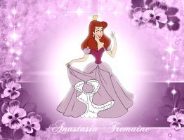 Beautiful Anastasia Tremaine by Randolph-Larry