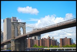 Brooklyn Bridge - HDR by quasigeek