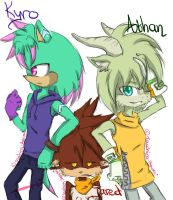 Kyro . Jared . Athan by Touching-Heaven