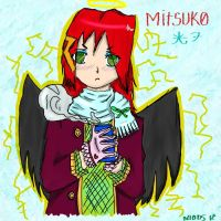 .:Mitsuko Sketch:. by Eridan-Swwag