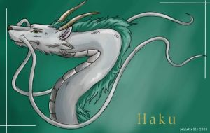 Spirited Away Haku by ShadowedFate