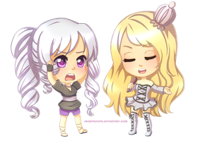 PaypalComm: Chibis for Igunenko by SashaVasileva