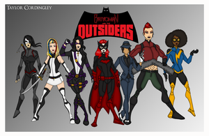 My DCU - Batwoman and the Outsiders Redesign Redux by Femmes-Fatales