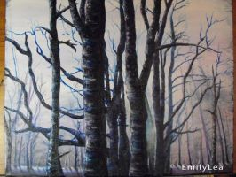 Blue Forest by Emzoid