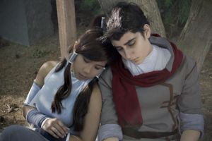 Legend of Korra Cosplay | Makorra - Morning Light by CosplayInABox
