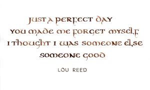 Lou Reed - Perfect Day by MShades