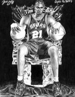Tim Duncan by ManHoPark