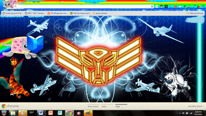 New Chrome Theme by autobotchari