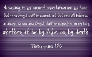 Philippians 1:20 by Menchieee