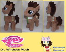 :MLP: Dr. Whooves Plush by MiharutheKunoichi