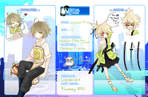 .:Virtual Stage - Wasabi Piyo:. by apple-kuun