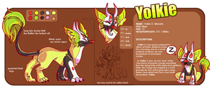 Yolkie Ref by CrypticInk