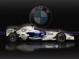 BMW Sauber 2008 F1 by tmr5555