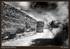 Burgh castle rld IR 02 by richardldixon