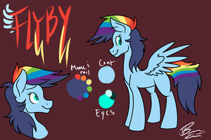 Flyby Ref - Art Trade with Sublit by ThunderShock0823