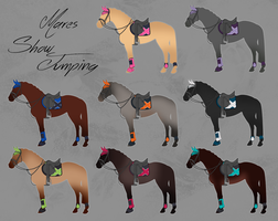 ELS Horse Showjumping Equipment - Mares by michelle222