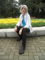 Gokudera Hayato cosplay 3 by Shiera13