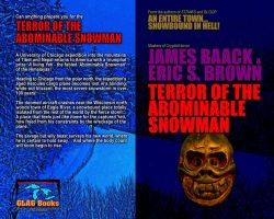 Terror of the Abominable Snowman wraparound by PaulBaack