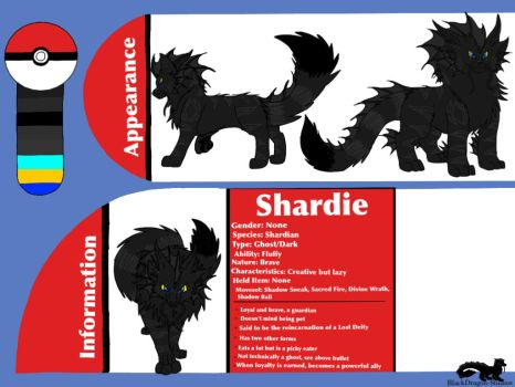 Fakemon: Shardie the Shardian by BlackDragon-Studios