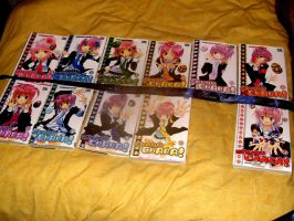 11 volumes of the manga Shugo Chara by JackFrost-LCDA