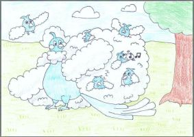Mega Altaria! A Swablu Hotel by WalkerP