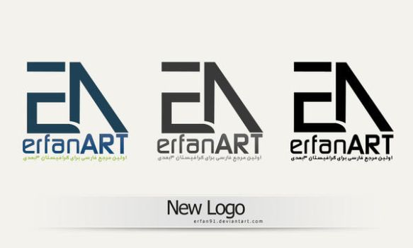 new logo by erfan91