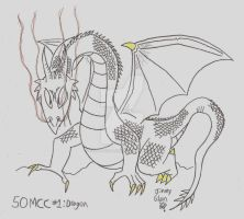 50MCC #1 Dragon by CelmationPrince