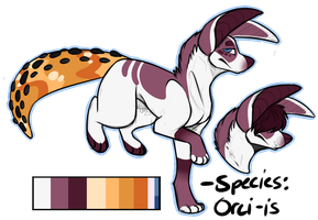 Orci-is Adopt SOLD by LittleWrinkle