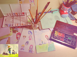 my workspace by natto-ngooyen