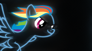 Rainbow Dash - Speed (1920x1080) by Shawnyall