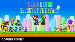 Mario and Luigi SOS Poster by Unknowni123