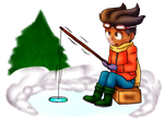 Winter or not I go fishing by WTHappened