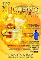 Margarita jose cuervo  flyer by DeityDesignz