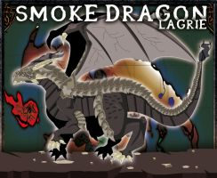 Smoke dragon by lagrie