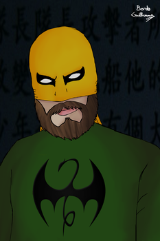 Iron fist by BardoGuilherme