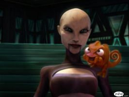 Evil Pascal With Ventress by jessicahickman200186